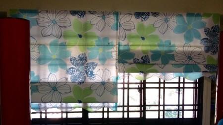Roman Blinds First Curtains